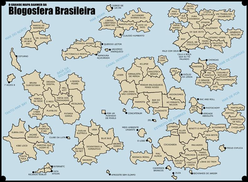 Mapa da Blogosfera Brasileira